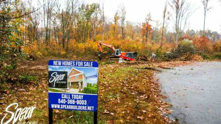 five lots for to be built homes in spotsylvania va
