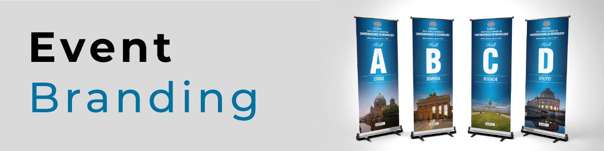 Full Colour Digitally printed Event Branding Banners