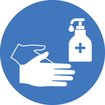 Hand Sanitiser Safety Sign Covid