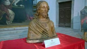 Un busto del Cristo Redentore (ANSA.it)