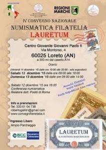 Numismatica Filatelia Lauretum