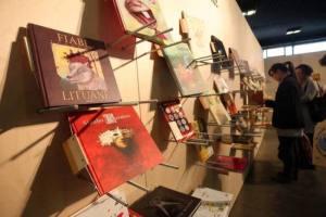 Una immagine dalla Bologna Children's Book Fair, la Fiera del Libro per Ragazzi di Bologna, 29 Marzo 2011 (ANSA/GIACOMO ZAMAI/BOLZONI)