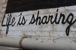 Life is sharing