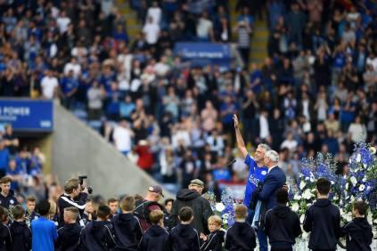 Il cantante italiano Andrea Bocelli dopo la sua esibizione prima della partita con l'Everton. (Laurence Griffiths/Getty Images)