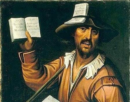 Un venditore di almanacchi