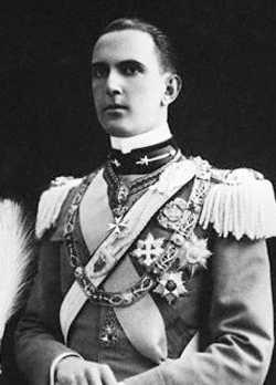 Il principe Umberto di Savoia