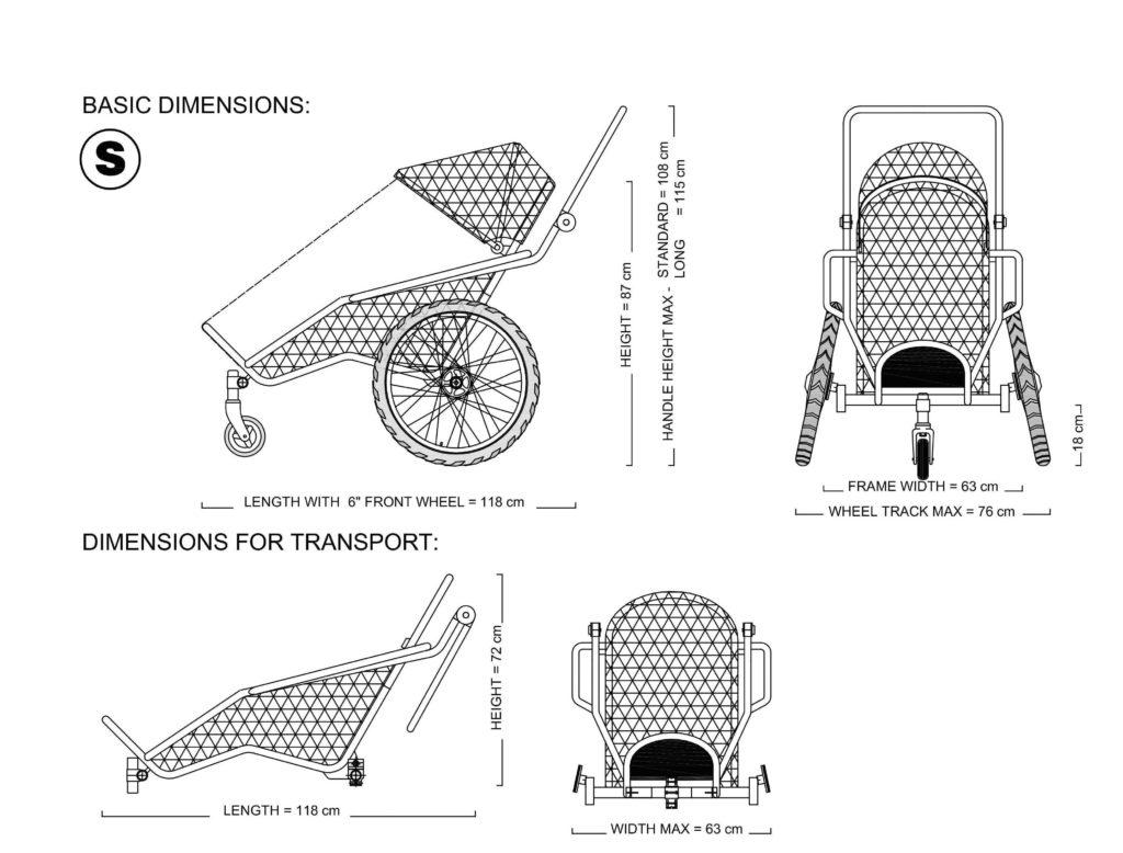 Xrover Diagram Castor Wheel