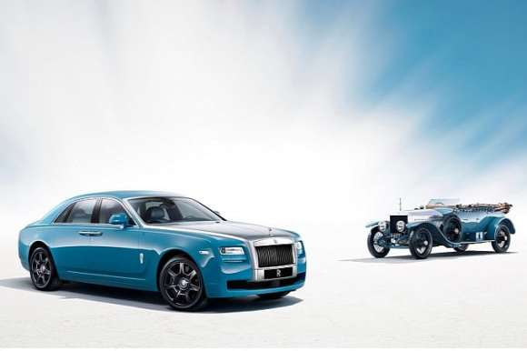 Rolls Royce Ghost Alpine Trial Centenary Edition