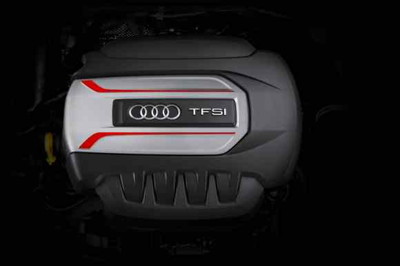 Le bloc TFSI de 310 chevaux de l'Audi TT-S 2015