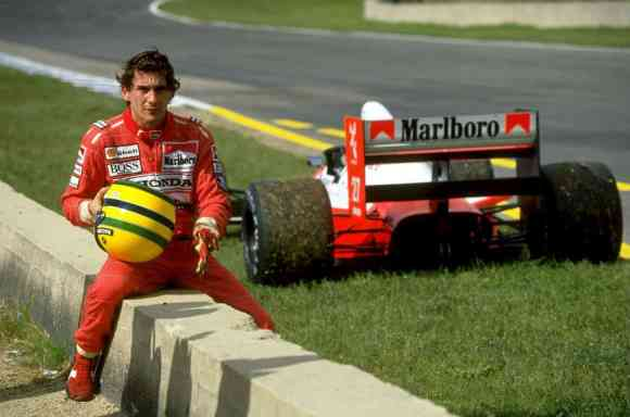 Le boss Ayrton Senna