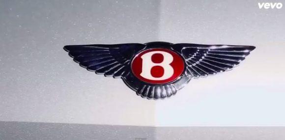 Le logo Bentley de la Continental de T.I