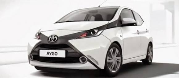 Toyota Aygo 2014 - elle se devoile en photos-1