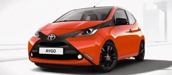 Toyota Aygo 2014 - elle se devoile en photos-2
