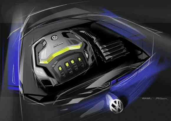 Le nouveau moteur de 400 chevaux pour ce concept de Super Golf 7 R 400