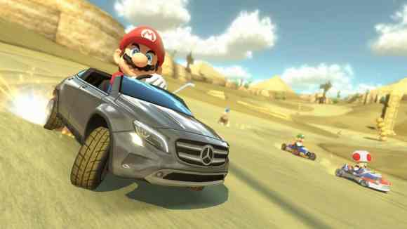 Le Mercedes GLA sera disponible dans Mario Kart 8 dès cet été