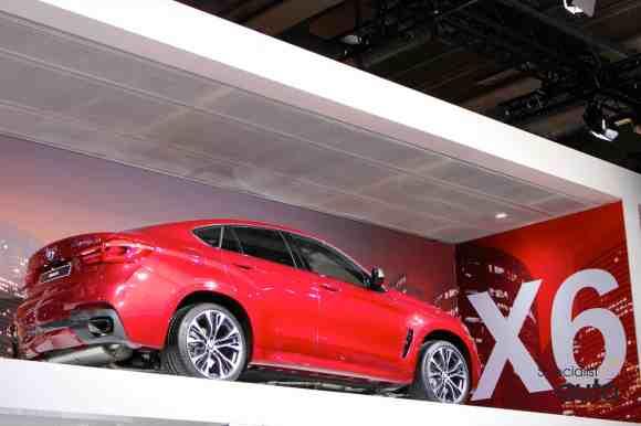 Le tout nouveau BMW X6 prend de la hauteur !