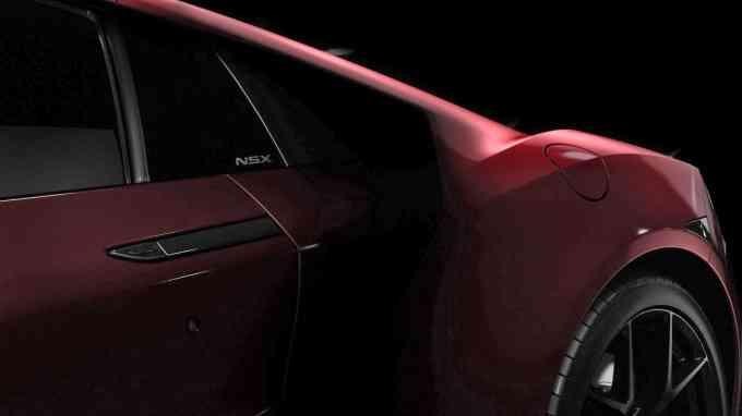 Le mythe renait ! Merci Honda pour cette NSX 2016 !