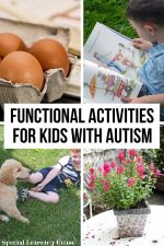 Functional activities for children with autism
