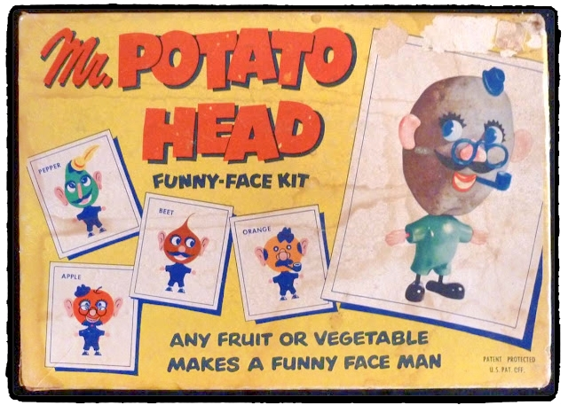 Original Mr. Potato Head 1952. Symbolic play fun for the whole family! Discover 5 vintage toys and their modern-day equivalents!