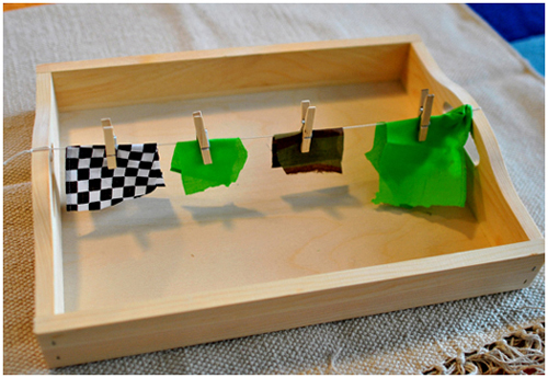 3 Montessori learning trays for kids with autism. Teach functional and fine motor skills.   speciallearninghouse.com