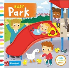 Busy Park. Best Board Books for Children with Autism. | speciallearninghouse.com