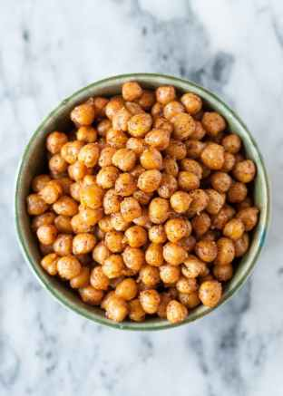 Prepare a Healthier Autism-Friendly Halloween. Roasted Chickpeas. | speciallearninghouse.com
