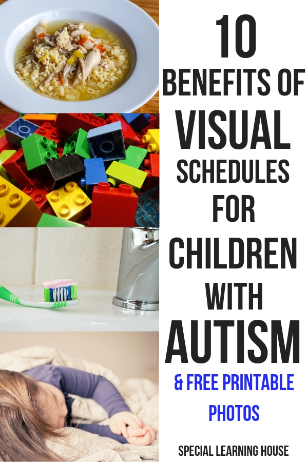 10 Benefits of Visual Schedules for Children with Autism