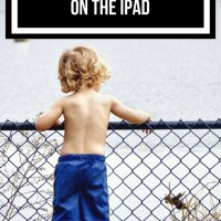 30 activities for kids with autism that are not on the iPad