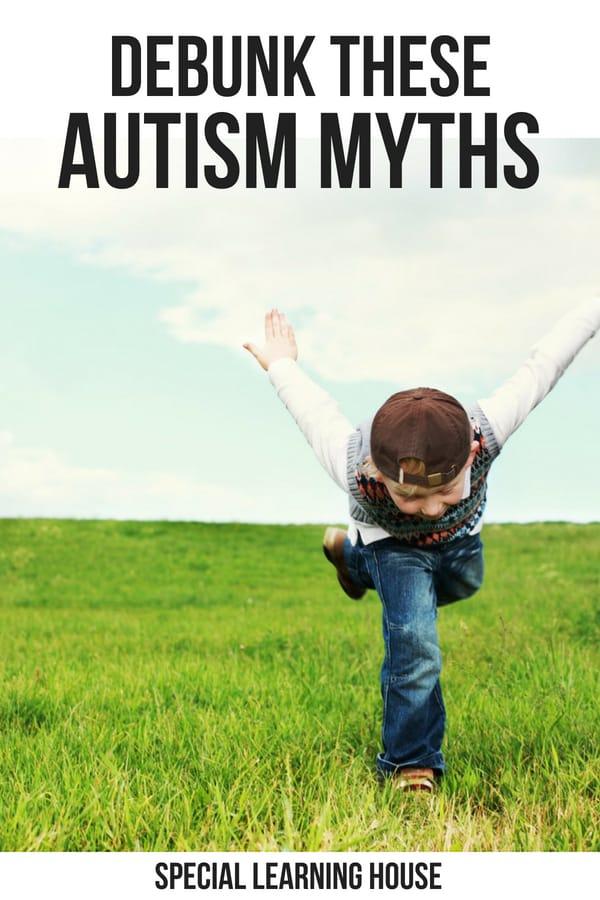 DEBUNK THESE AUTISM MYTHS #AUTISM #ADHD #SPD #AUTISMMOM #AUTISMMUM