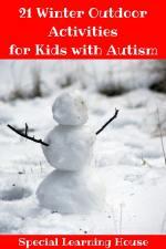 21 Winter Outdoor Activities for Kids with Autism