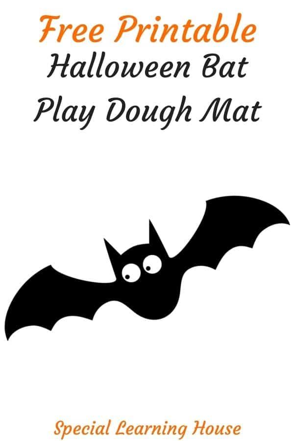 Free Printable Halloween Play Dough Mat