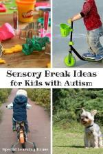 Sensory Break Ideas for Kids with Autism
