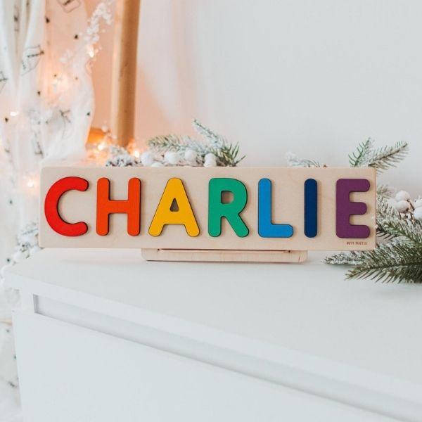 Personalized Wooden Name Puzzle