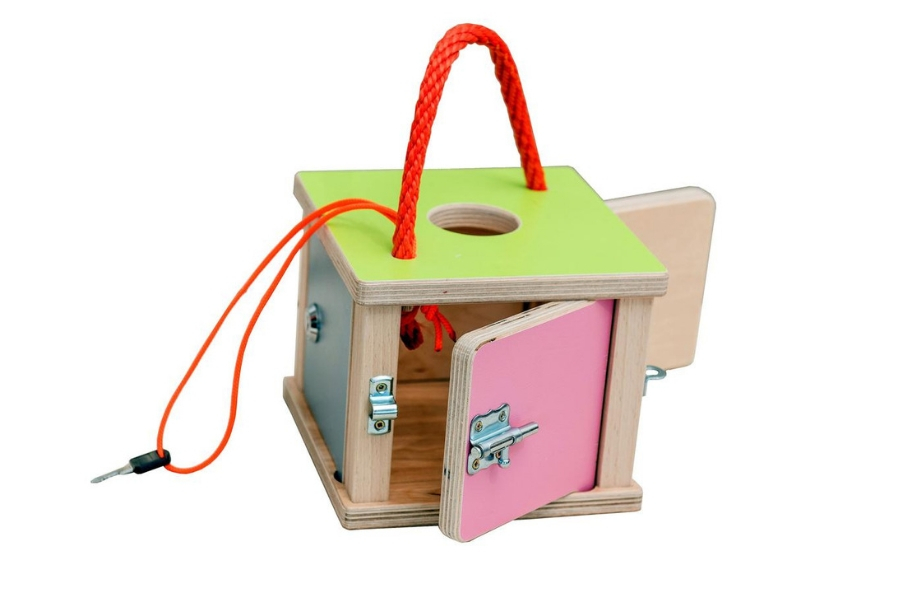 Sensory Toys for Kids with Autism - Montessori Lock Box