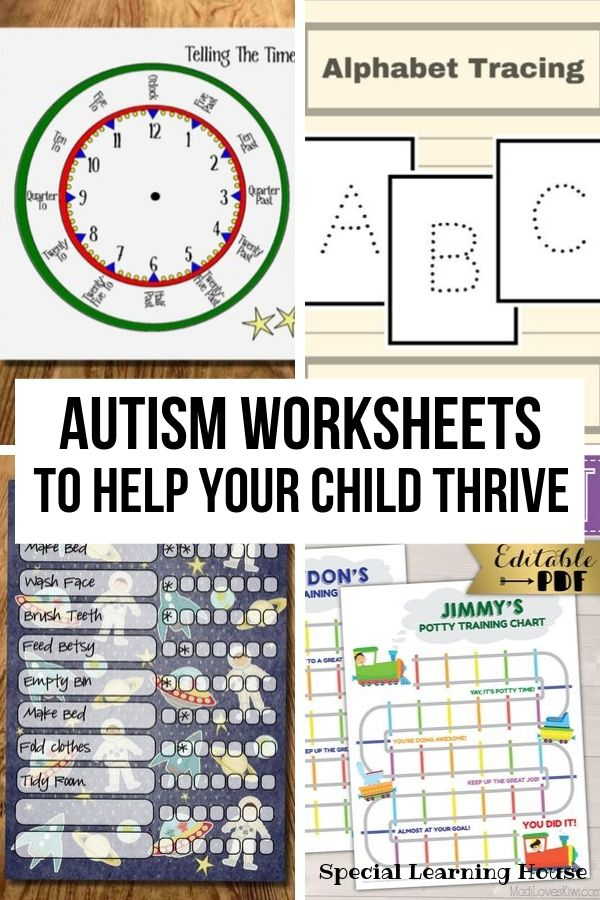 Autism Worksheets To Help Your Child Thrive Special Learning House