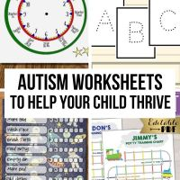 Autism Worksheets to Help Your Child Thrive