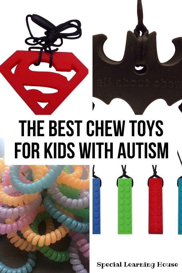 chewable necklaces & bracelets for kids with autism