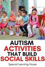 Free Printable List of 62 Social Skills to Teach Kids with Autism