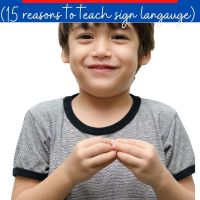 Sign Language for Autism : 15 Reasons to Teach Sign Language to Autistic Learners