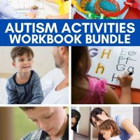 Autism Workbooks (Printable Activities to Teach Language & More from an Autism Expert)