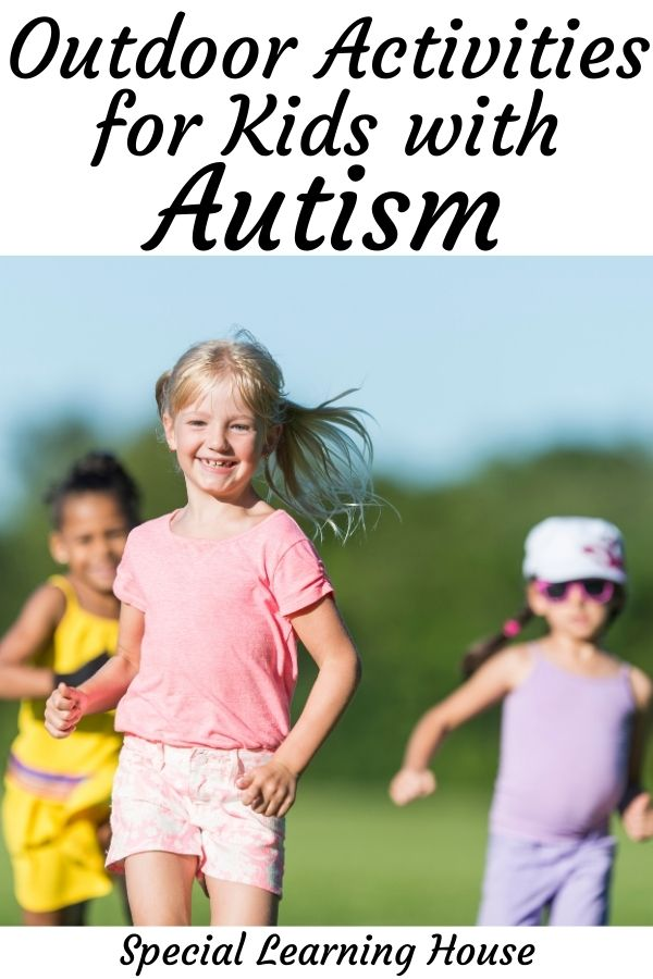 outdoor activities for kids with autism