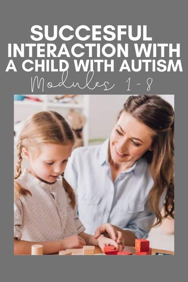 autism training online