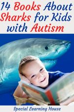 the best books about sharks for kids with autism