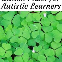March Lesson Plans for Kids with Autism