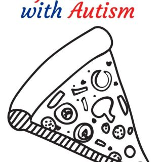 Pizza Coloring Pages for Kids with Autism