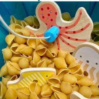 Ocean Sensory Bin for Kids Cover