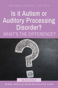 Is it Autism or Auditory Processing Disorder (APD)? What's the Difference?