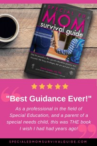 Special Ed Mom Survival Guide Book