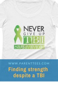 TBI Traumatic Brain Injury T-shirt