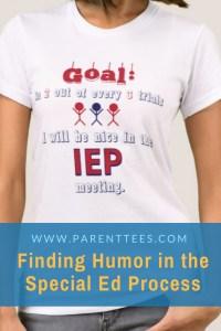 IEP goal t-shirt for parents